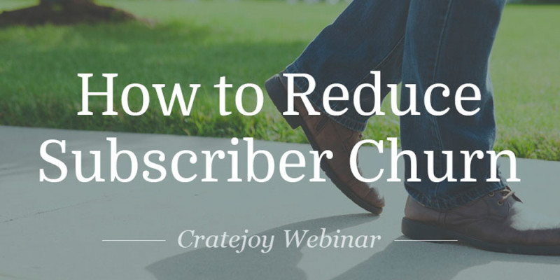 Reduce Churn Subscription Business